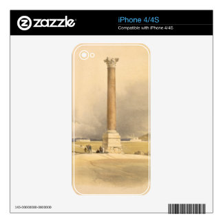 "Pompey's Pillar, Alexandria, from ""Egypt and Nubia iPhone 4S Skins"