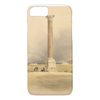 """Pompey's Pillar, Alexandria, from """"Egypt and Nubia iPhone 8/7 Case"""
