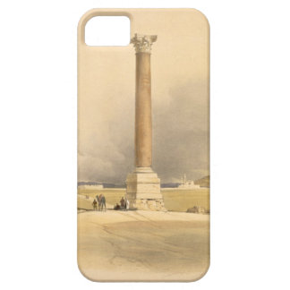 """Pompey's Pillar, Alexandria, from """"Egypt and Nubia iPhone SE/5/5s Case"""