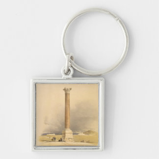 """Pompey's Pillar, Alexandria, from """"Egypt and Nubia Key Chains"""