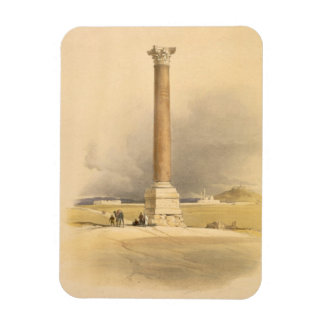 """Pompey's Pillar, Alexandria, from """"Egypt and Nubia Magnet"""