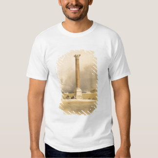 """Pompey's Pillar, Alexandria, from """"Egypt and Nubia T-Shirt"""