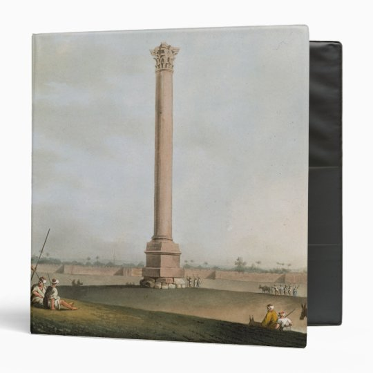 Pompey's Pillar, plate 14 from 'Views in Egypt', e Binder