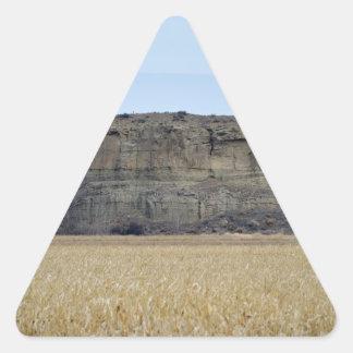 Pompeys Pillar Rock Triangle Stickers