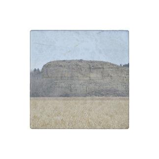 Pompeys Pillar Rock Stone Magnet