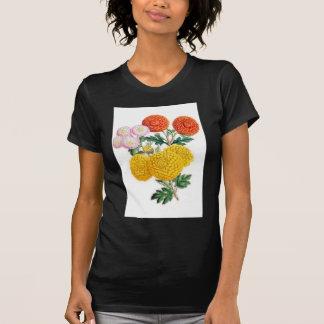 Pompon Chrysanthemums T Shirts