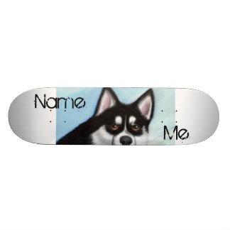 Pomsky Skateboard
