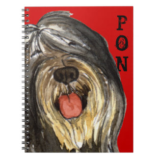 PON Color Block Notebook
