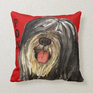 PON Color Block Throw Pillow