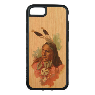 Ponca Chief: Standing Bear Carved iPhone 8/7 Case