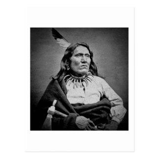 Ponca Chief  Yankton  Dakota Territory Postcard