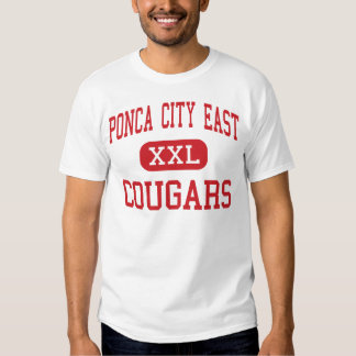 Ponca City East - Cougars - Middle - Ponca City Tee Shirts