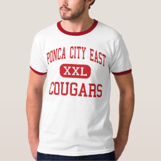 Ponca City East - Cougars - Middle - Ponca City Tshirts