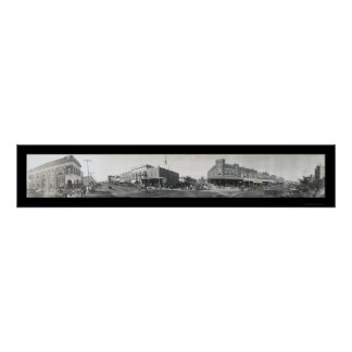 Ponca City, OK Photo 1910 Poster