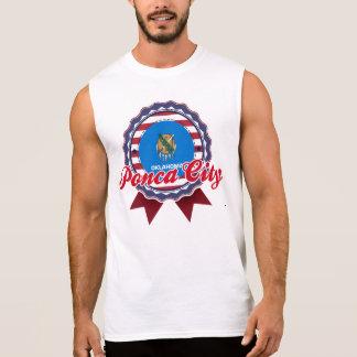 Ponca City, OK Sleeveless T-shirts
