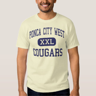 Ponca City West Cougars Middle Ponca City Shirts