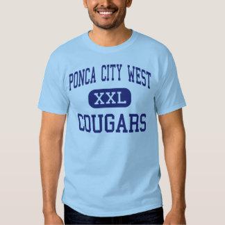 Ponca City West Cougars Middle Ponca City T Shirt