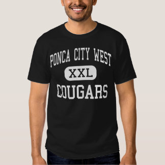Ponca City West Cougars Middle Ponca City Tee Shirt