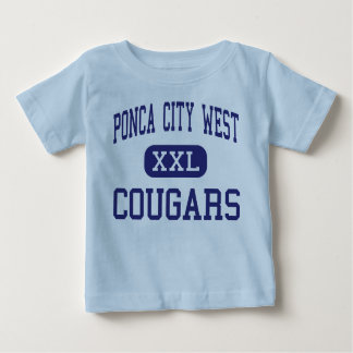 Ponca City West Cougars Middle Ponca City Tshirt