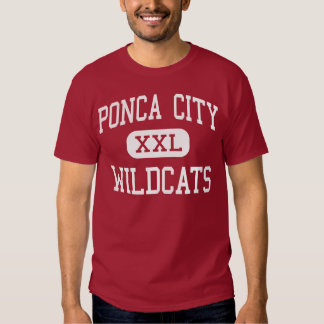 Ponca City - Wildcats - High - Ponca City Oklahoma T-shirt