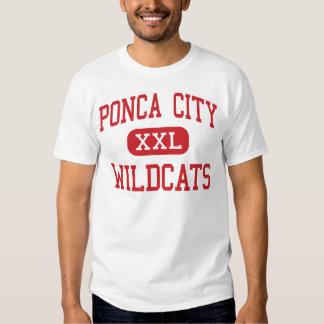 Ponca City - Wildcats - High - Ponca City Oklahoma T-shirts