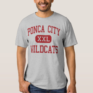 Ponca City - Wildcats - High - Ponca City Oklahoma Tee Shirts