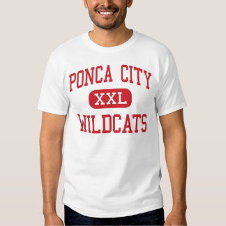 Ponca City - Wildcats - High - Ponca City Oklahoma Tshirts