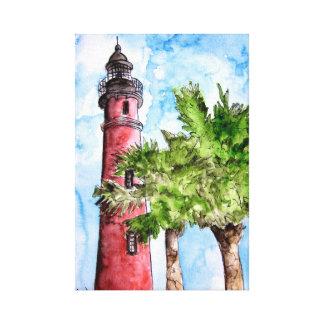 Ponce de Leon Inlet Light lighthouse Canvas Print