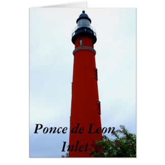 Ponce de Leon Inlet Lighthouse Card