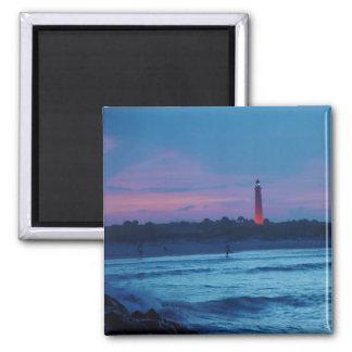 Ponce de Leon Inlet Lighthouse Dusk Magnet