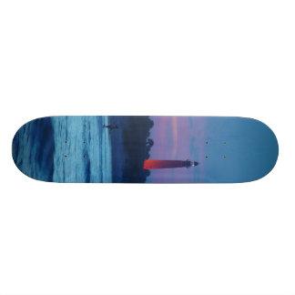 Ponce de Leon Inlet Lighthouse Dusk Skateboard