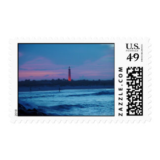 Ponce de Leon Inlet Lighthouse Dusk Stamps