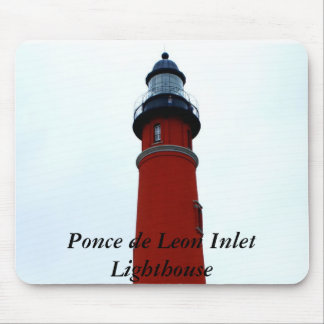 Ponce de Leon Inlet Lighthouse Mouse Pad