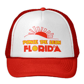 Ponce de León, la Florida Gorras
