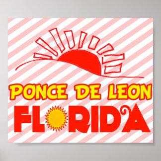 Ponce de León la Florida Impresiones