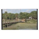 Ponce de Leon park in Florida dock iPad Cases