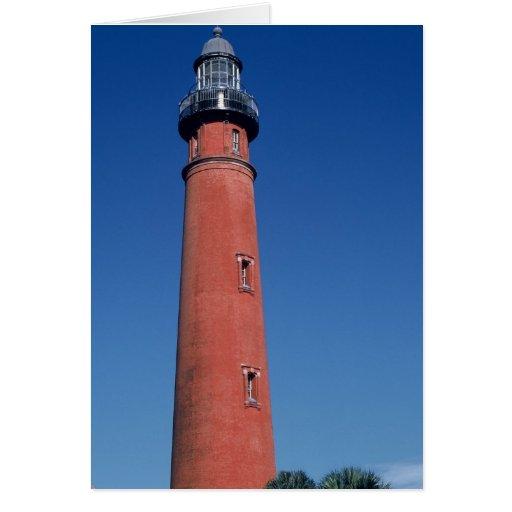 Ponce de Loen Lighthouse Tarjeta De Felicitación