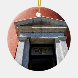 Ponce Entrance Ceramic Ornament