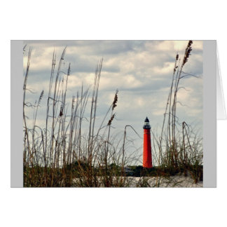 Ponce Inlet, Fl - Lighthouse Card