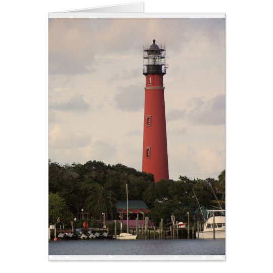 Ponce Inlet Lighthouse Card