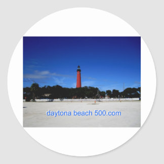 Ponce Inlet Lighthouse Classic Round Sticker
