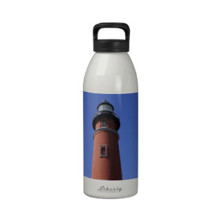 Ponce Inlet Lighthouse Reusable Water Bottle