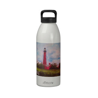 Ponce Inlet Lighthouse Reusable Water Bottles