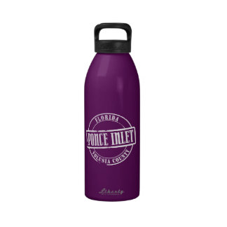 Ponce Inlet Title Reusable Water Bottle