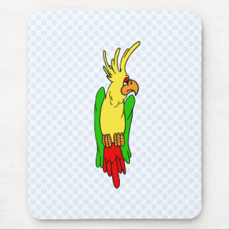 Ponce Parrot Mouse Pad