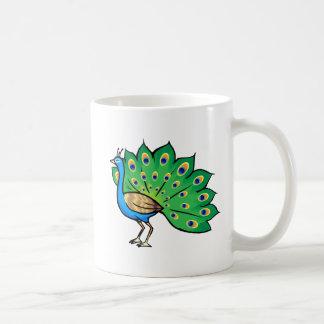 Ponce Peacock Coffee Mug