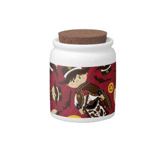 Poncho Cowboy Sheriff Cookie Jar Candy Dish