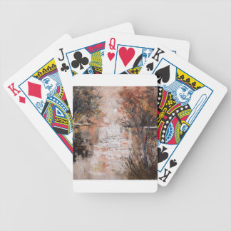 Pond 8851 bicycle playing cards