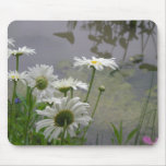 Pond and Flowers Mouse Pad