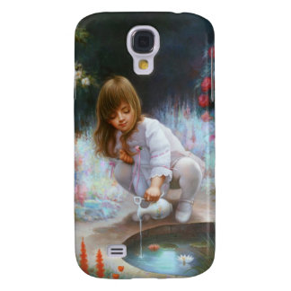 Pond and girls galaxy s4 case